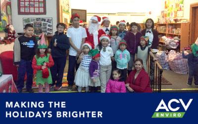ACV Enviro | Making The Holidays Brighter