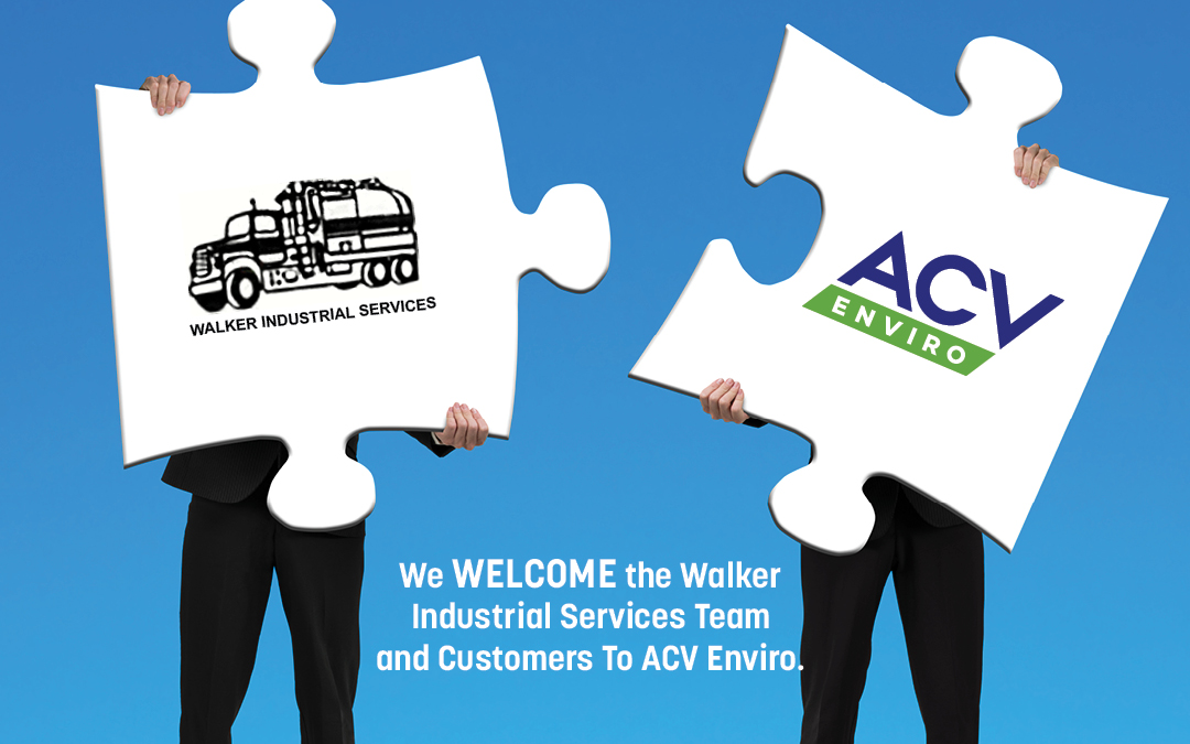 ACV ENVIRO, IN PARTNERSHIP WITH KINDERHOOK INDUSTRIES, ACQUIRE WALKER INDUSTRIAL SERVICES