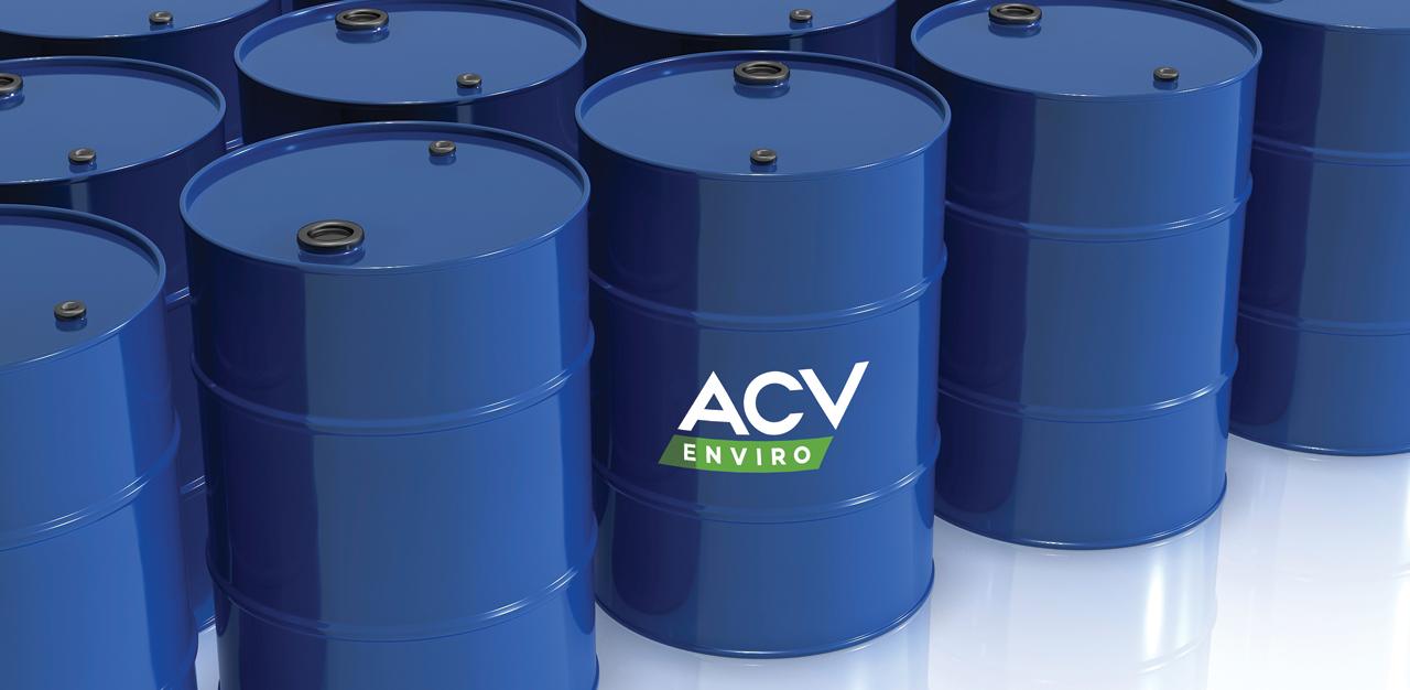 ACV 50gal drums
