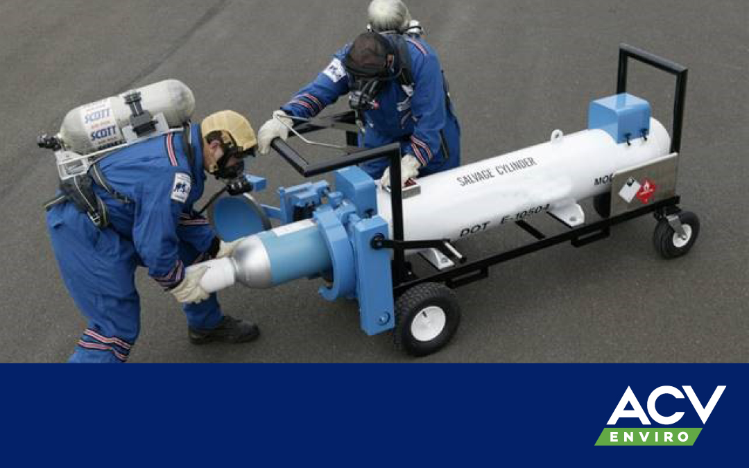 Need to transport a damaged cylinder?