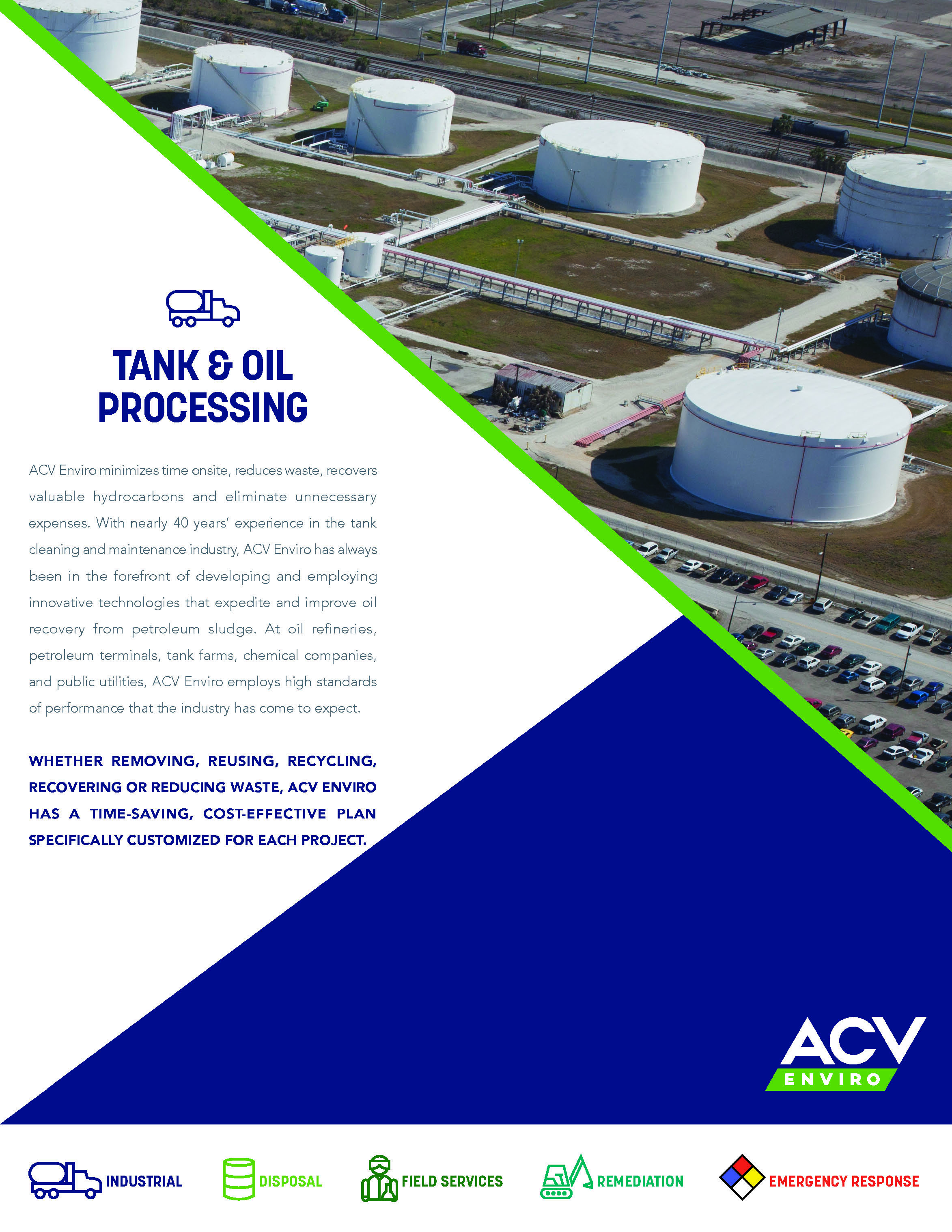 Tank & Oil Processing