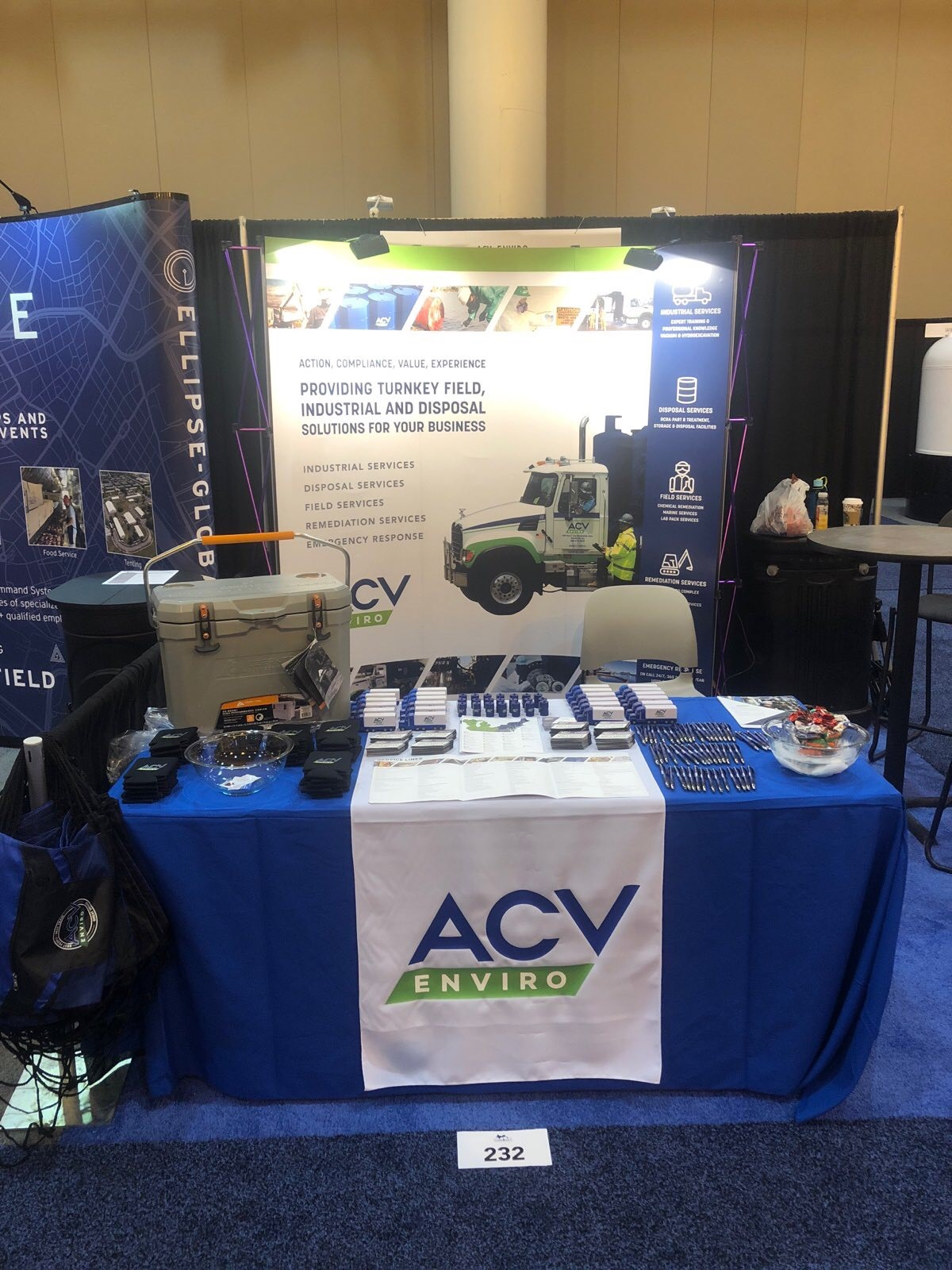 clean gulf trade show booth #2