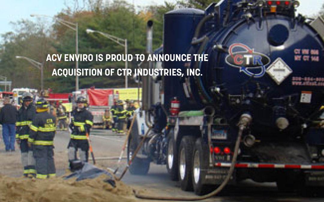 ACV Enviro Corporation Acquires CTR Industries, Inc.