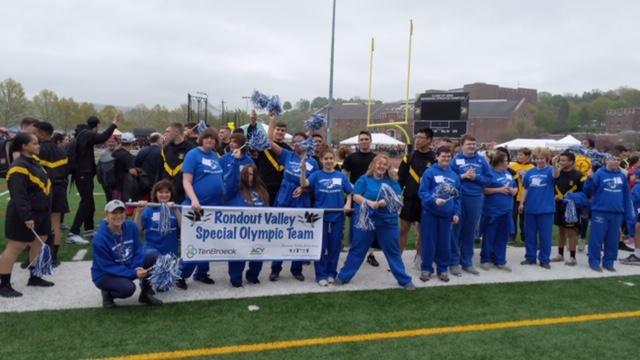 Special Olympics team photo