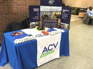 middlesex community college recruiting event table