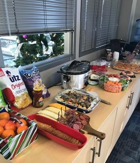Gift Swap and Potluck