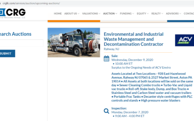 """ACV Enviro Fleet Auction Opens Up Room for New, """"Green"""" Replacement Trucks"""
