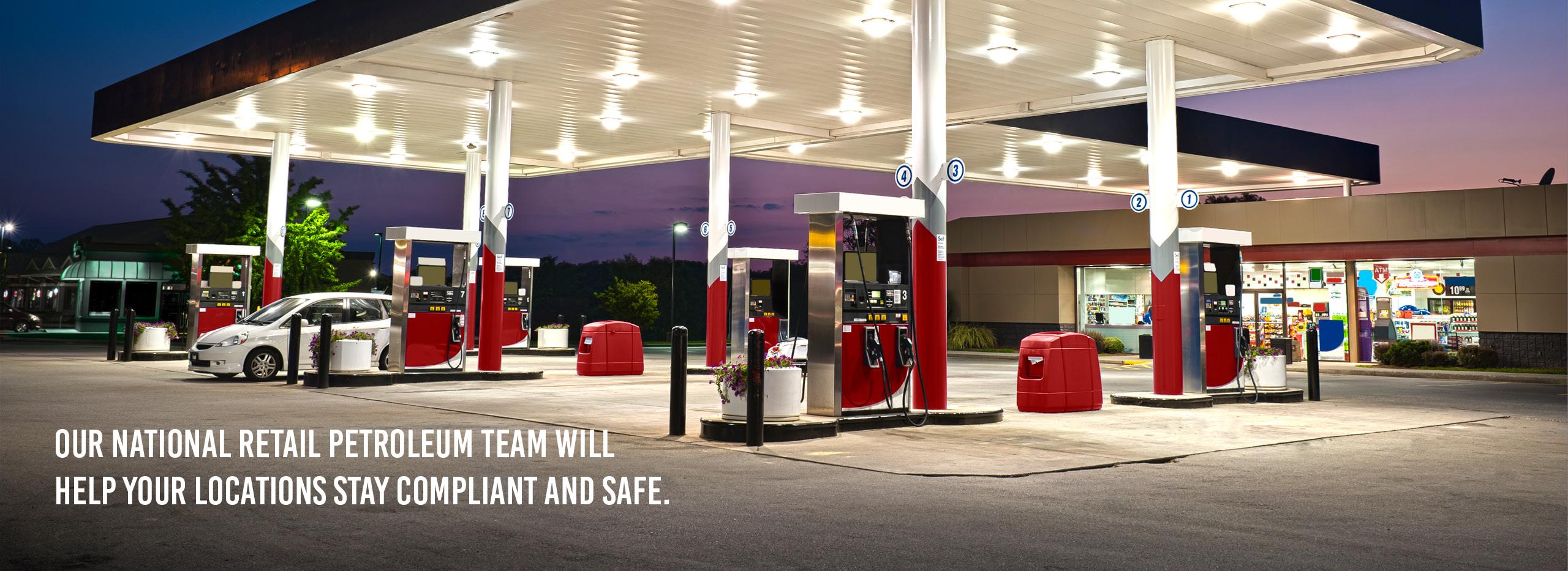 Retail Petroleum Team Will Help