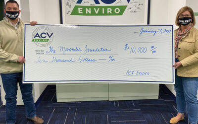 ACV Enviro raises $10,000 and  creates new November tradition