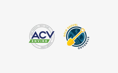ACV Enviro Receives Gold Shovel Standard Certification