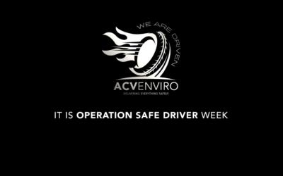 Operation Safe Driver Week